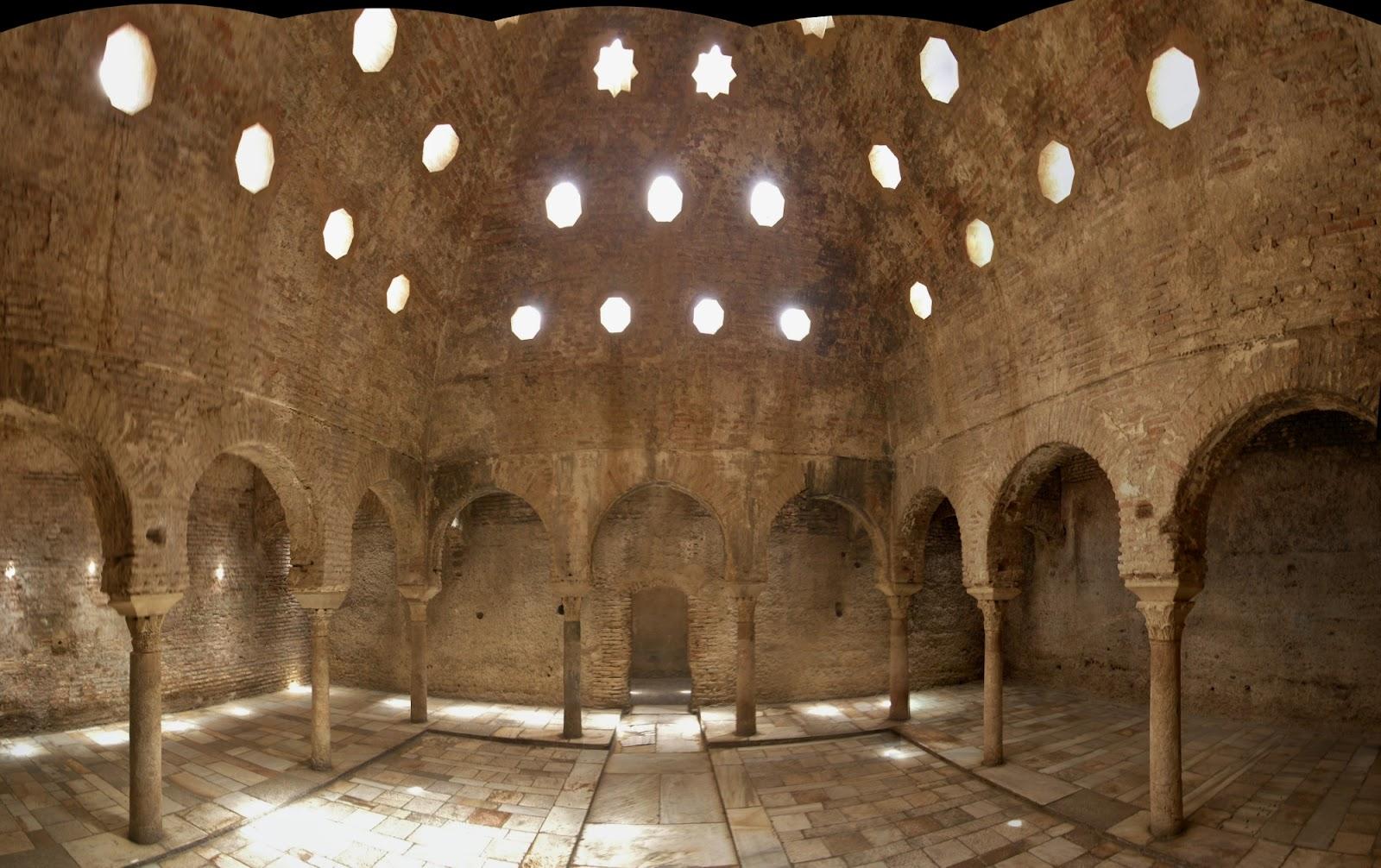 La alhambra reabre al p blico el ba uelo granada m s - Confort del bano granada ...
