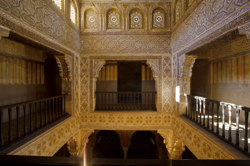 Baño General De Cama:La Sala de las Camas del Baño Real de Comares se abre al público