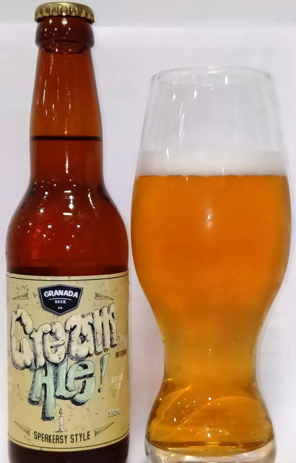 Granada Beer Company Cream Ale