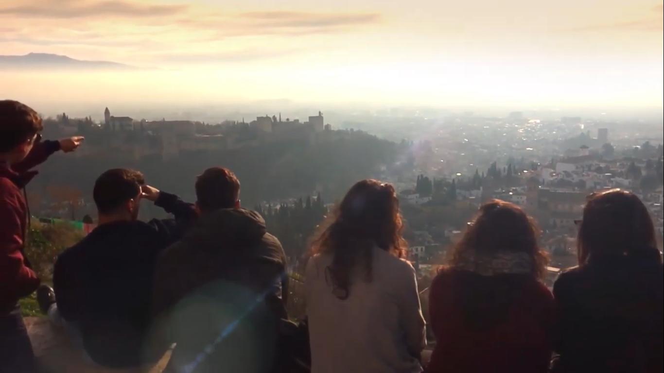 Mírame; paisajes de Granada